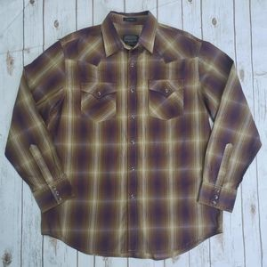 Pendleton Frontier Plaid Snap Shirt